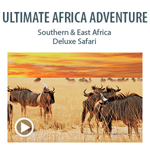 Ultimate Africa Adventure: Southern & East Africa Deluxe Safari