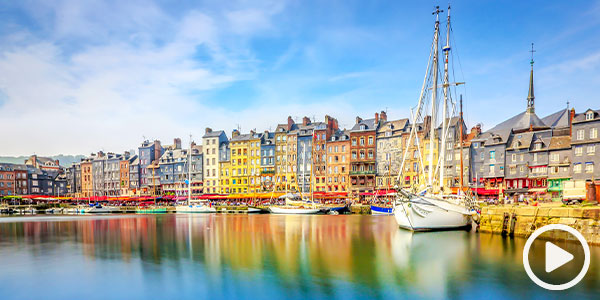 Cruise six European nations on one voyage