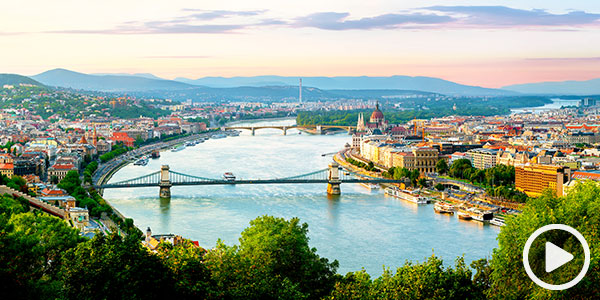 Admire the natural beauty and history on the Danube