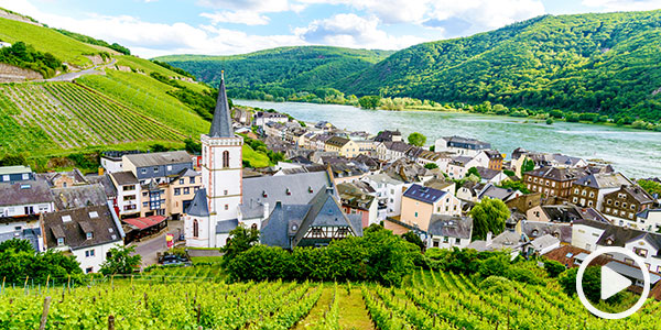 Enjoy the Upper Rhine River Valley
