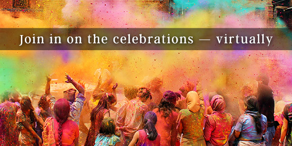 Join in on celebrations, virtually