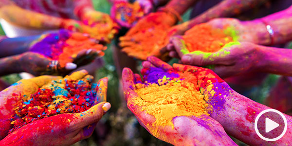 Ring in spring with an onboard Holi Festival in India