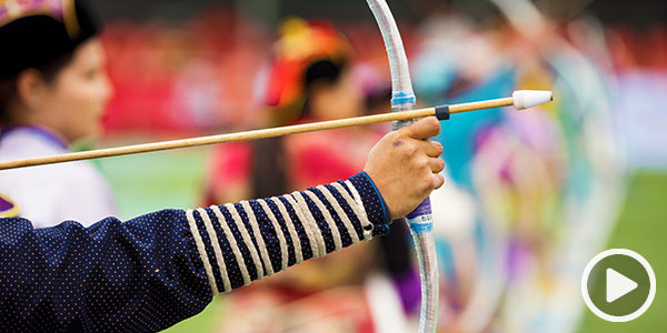 Feel the thrill of the Mongolian Naadam Festival